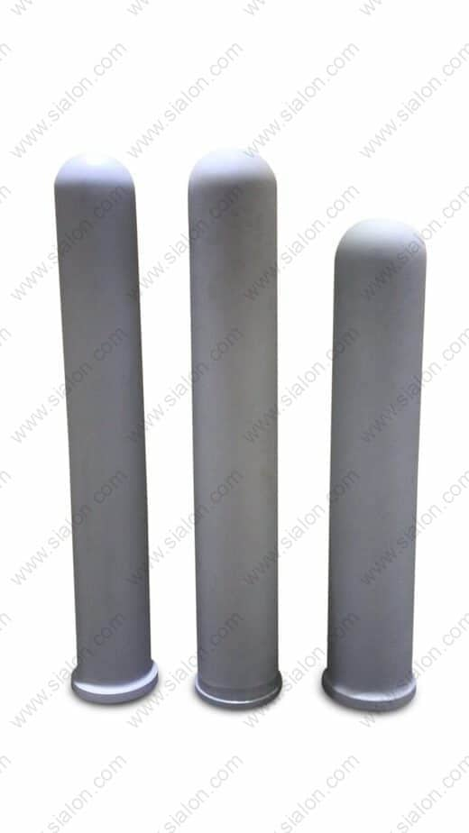 Sialon Heater Tubes | Sialon Immersion Tubes | Sialon Ceramics