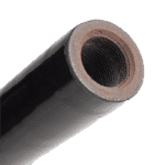 ceramic coated cast iron thermocouple protection tubes